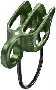 Descendeur à tube Guide Reverso - couleur vert foncé